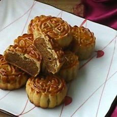 奶香菠萝月饼