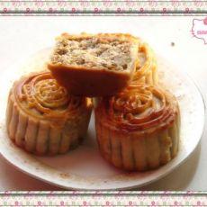 可爱绿豆月饼