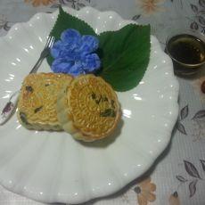 苏子籽儿馅老式月饼的做法