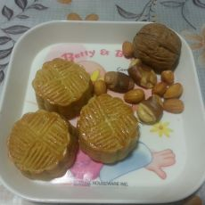 菠萝水果月饼