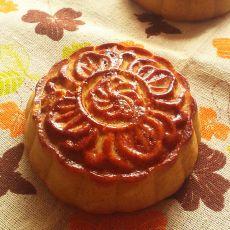 广式椰丝五仁馅月饼