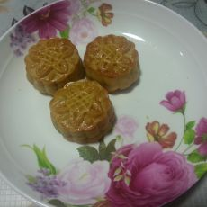 香甜菠萝蜜馅广式月饼