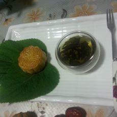 黄桃水果月饼