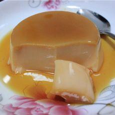 冻焦糖牛奶鸡蛋布丁