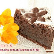 古典巧克力蛋糕的做法