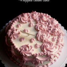 鲜奶油蛋糕