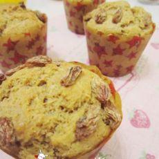 低脂低糖的奶香栗子马芬蛋糕