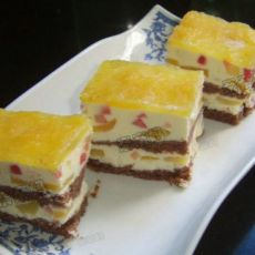 蜜桃慕斯蛋糕的做法