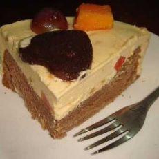 芒果巧克力慕斯蛋糕