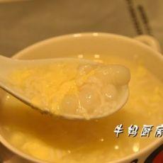 蛋花酒酿丸子的做法