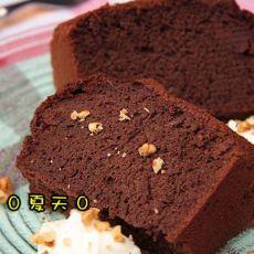 黑巧克力戚风蛋糕