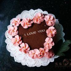 情人节免烤蛋糕