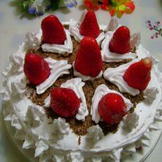 巧克力奶油草莓蛋糕