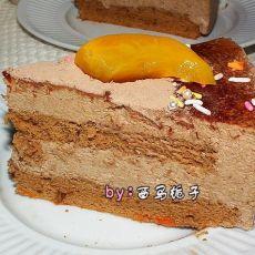香滑巧克力慕斯蛋糕【8寸】