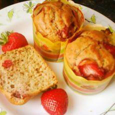草莓奶油玛芬