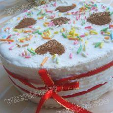 巧克力苹果慕司蛋糕
