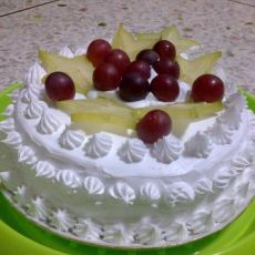 巧克力水果奶油蛋糕