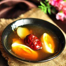 古法红糖姜汤鸡蛋