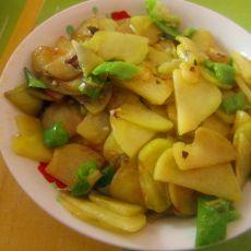 土豆片炒尖椒