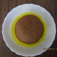 巧克力小戚风蛋糕