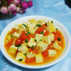 番茄豆腐配