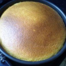 8寸南瓜戚风蛋糕
