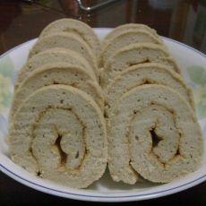 菠萝酱奶茶蛋糕卷