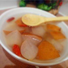 冰糖梨炖川贝的做法
