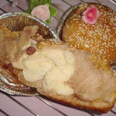 巧克力红豆面包