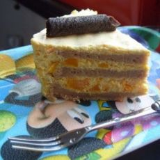 巧克力南瓜夹心蛋糕