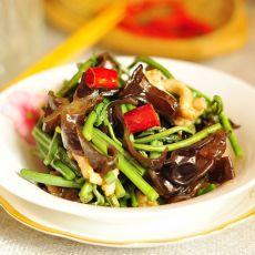 山野菜炒木耳