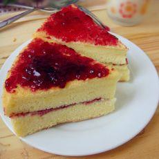 蓝莓酱酸奶戚风蛋糕