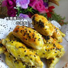 黄油红薯饼
