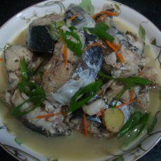 清炖鲜鲅鱼