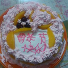 母亲节奶油蛋糕