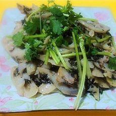 清炒紫苏莲藕