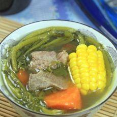 润肺靓汤-西洋菜煲猪骨汤