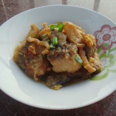 潮汕菜脯焖鲤鱼的做法