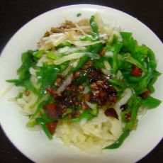 炝土豆丝青椒丝