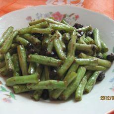 豆豉炒豆角