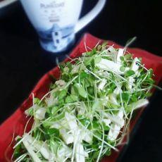 香椿苗拌豆干