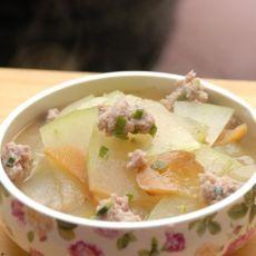 [首发]菜脯冬瓜肉丸汤