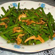 肉炒豇豆的做法