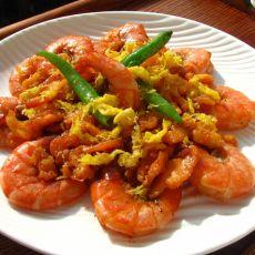 西式奶油虾的做法