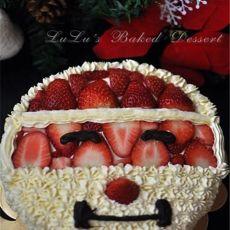 生日蛋糕之圣诞老人版