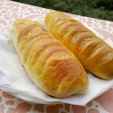 蓝莓橄榄形面包