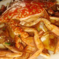 蟹炒年糕的做法