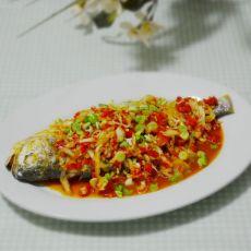 剁椒泡菜鱼的做法