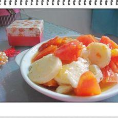 番茄炒年糕