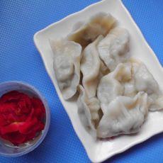 猪肉蒜苔饺子